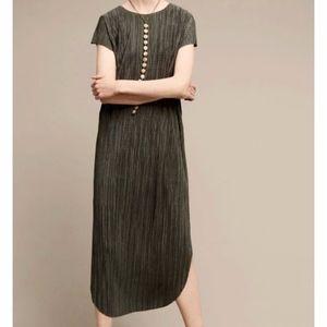 Anthropologie Dresses - Anthropologie Sabina Musayev Green Silky Textured